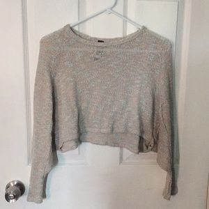 Francesca's cropped knit sweater